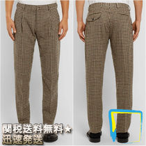 Acne Tapered Pants Other Check Patterns Wool Tapered Pants