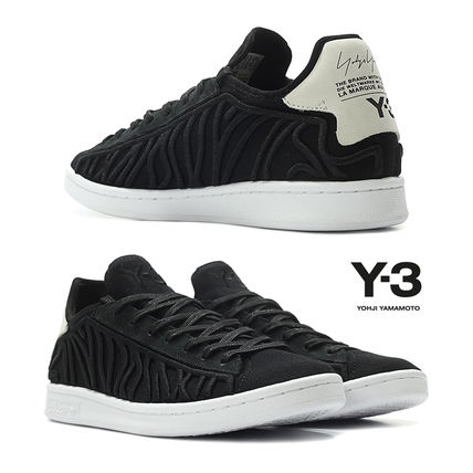 Rubber Sole Casual Style Unisex Low-Top Sneakers