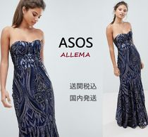 ASOS Maxi V-Neck Long Home Party Ideas Halloween Dresses
