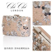 Chi Chi London Flower Patterns Chain Party Style With Jewels Party Bags