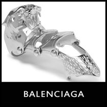 BALENCIAGA Unisex Street Style Other Animal Patterns Rings