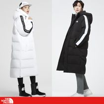 THE NORTH FACE Unisex Street Style Long Oversized Down Jackets
