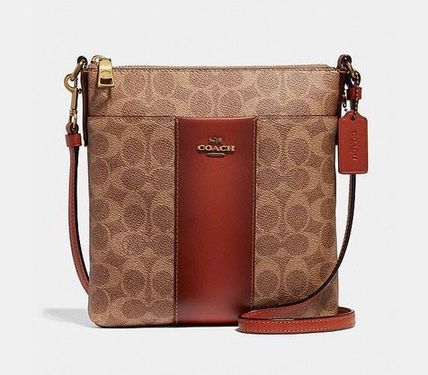 ... Coach Shoulder Bags Leather Elegant Style Dark Brown Shoulder Bags ... bf2bffb8e637c