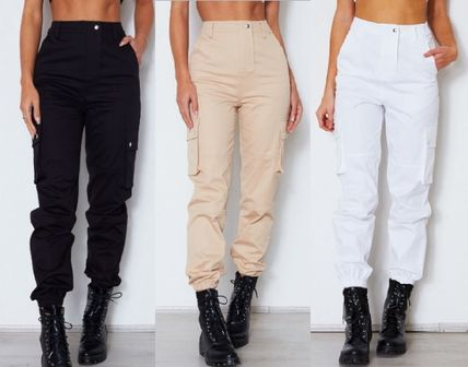 Casual Style Street Style Plain Pants
