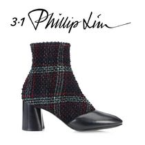 3.1 Phillip Lim Other Check Patterns Casual Style Tweed Blended Fabrics