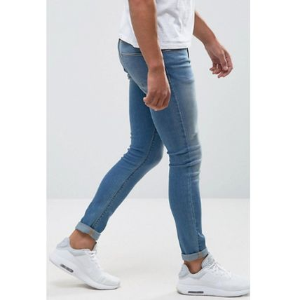 ASOS Skinny Fit Denim Street Style Plain Skinny Fit Jeans & Denim 3