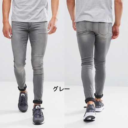 ASOS Skinny Fit Denim Street Style Plain Skinny Fit Jeans & Denim 10