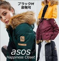ASOS Short Casual Style Plain Down Jackets