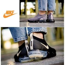 Nike Vapor Max Casual Style Faux Fur Street Style Plain Low-Top Sneakers