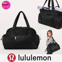 lululemon Casual Style Nylon A4 Plain Boston & Duffles