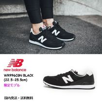 New Balance 996 Rubber Sole Casual Style Street Style Plain Leather