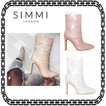 SIMMI Casual Style Street Style Ankle & Booties Boots