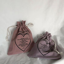 MAZZZZY Heart Street Style Pouches & Cosmetic Bags