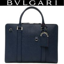 Bvlgari A4 Plain Leather Business & Briefcases