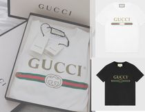 GUCCI Street Style Cotton Medium Short Sleeves T-Shirts