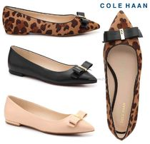 Cole Haan Leopard Patterns Casual Style Spawn Skin Slippers