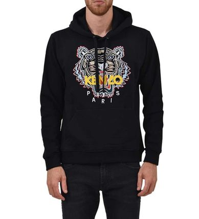 KENZO Hoodies Street Style Long Sleeves Cotton Designers Hoodies 2