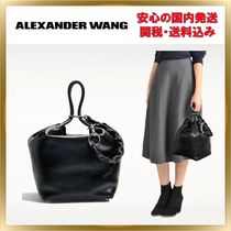 Alexander Wang Leather Elegant Style Totes