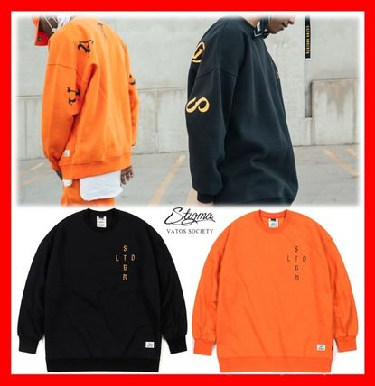 Unisex Street Style Cotton Oversized Hoodies & Sweatshirts