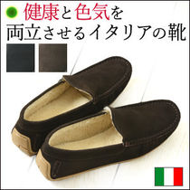 Dino Draghi Loafers Plain Leather U Tips Loafers & Slip-ons