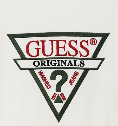 Guess Sweatshirts Unisex Long Sleeves Cotton Sweatshirts 5