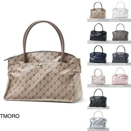 Casual Style Nylon Handbags