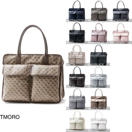 Casual Style Nylon A4 Handbags