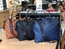 Coach A4 Leather Boston Bags