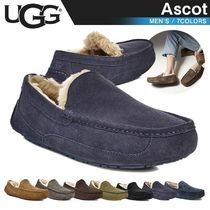 UGG Australia ASCOT Moccasin Fur Street Style Loafers & Slip-ons