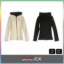 DUVETICA Short Casual Style Wool Plain Jackets