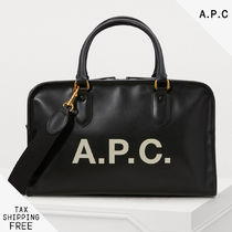 A.P.C. Casual Style 2WAY Plain Boston & Duffles