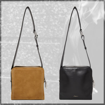 3 1 Phillip Lim Shoulder Bags 2way Plain Leather Elegant Style