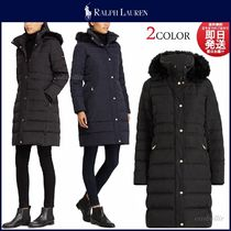 POLO RALPH LAUREN Plain Long Down Jackets