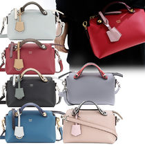 FENDI BY THE WAY 2WAY Plain Leather Shoulder Bags