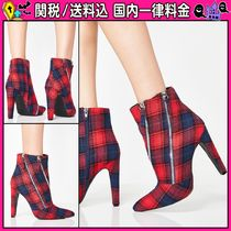 DOLLS KILL Other Check Patterns Casual Style Ankle & Booties Boots