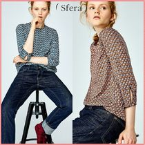Sfera Casual Style Cropped Shirts & Blouses
