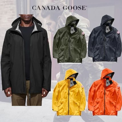 ... CANADA GOOSE More Jackets Plain Long Jackets ...
