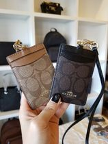 Coach SIGNATURE Street Style PVC Clothing Card Holders