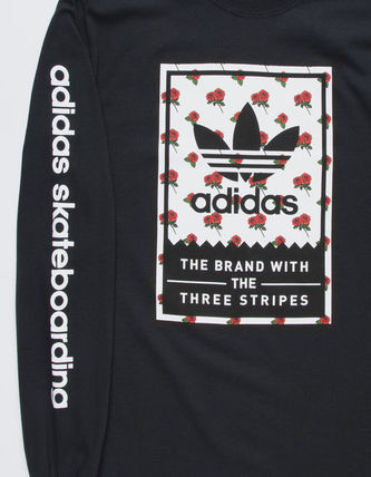 adidas Long Sleeve Flower Patterns Long Sleeves Logos on the Sleeves 2