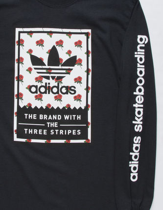 adidas Long Sleeve Flower Patterns Long Sleeves Logos on the Sleeves 3