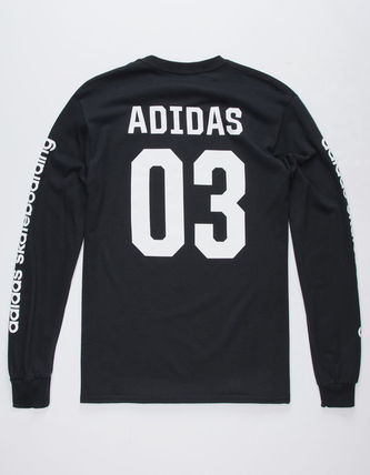 adidas Long Sleeve Flower Patterns Long Sleeves Logos on the Sleeves 4