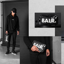 BALR Camouflage Unisex Street Style Bag in Bag Clutches