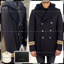 GUCCI Peacoats Coats