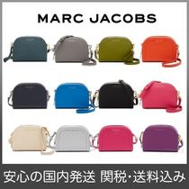MARC JACOBS Casual Style Plain Leather Shoulder Bags