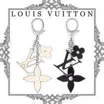 Louis Vuitton EPI Chain Plain With Jewels Keychains & Bag Charms