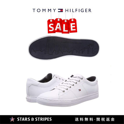 914c3c6ef ... Tommy Hilfiger Loafers   Slip-ons Street Style Plain Leather Loafers ...
