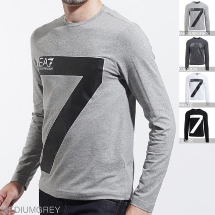 Crew Neck Long Sleeves Long Sleeve T-Shirts