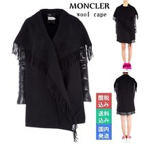 MONCLER Wool Blended Fabrics Ponchos & Capes