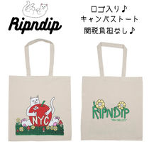 RIPNDIP Flower Patterns Casual Style Unisex Canvas Street Style