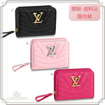Louis Vuitton 18-19AW LOUIS VUITTON NEW WAVE ZIPPED COMPACT WALLET